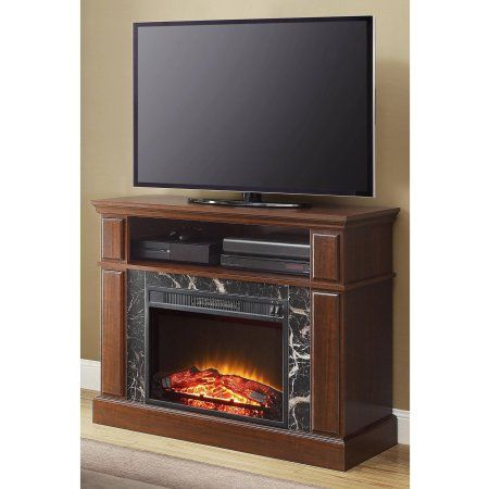 Strange Mainstays Loring Media Fireplace For Tvs Up To 50 Inch Download Free Architecture Designs Terstmadebymaigaardcom