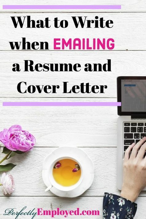 How To Write Resume Letter What To Write When Emailing A Resume  Employment Jobs Resume .