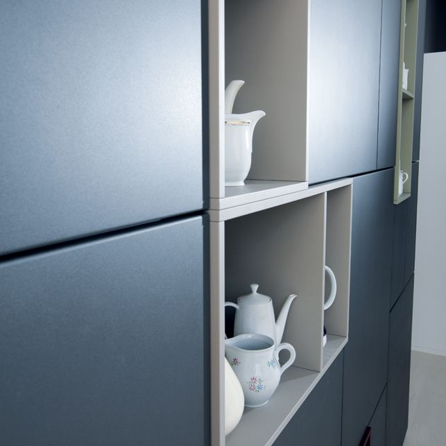 next125 - NX 502 Steingrau matt | Next125 Keukens | Pinterest