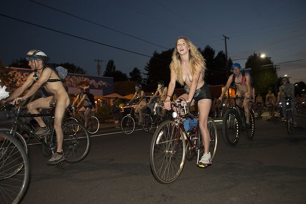 Butts, Boobs and Body Paint: Photos of the World Naked Bike Ride Portland