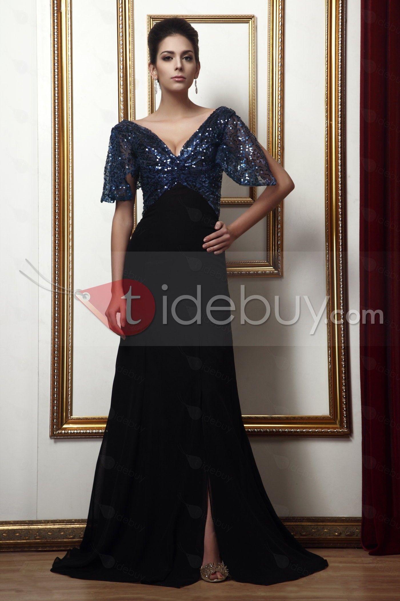 Encantador Taline\'s-Vestido para Madre de la Novia Vaina/Columna con ...