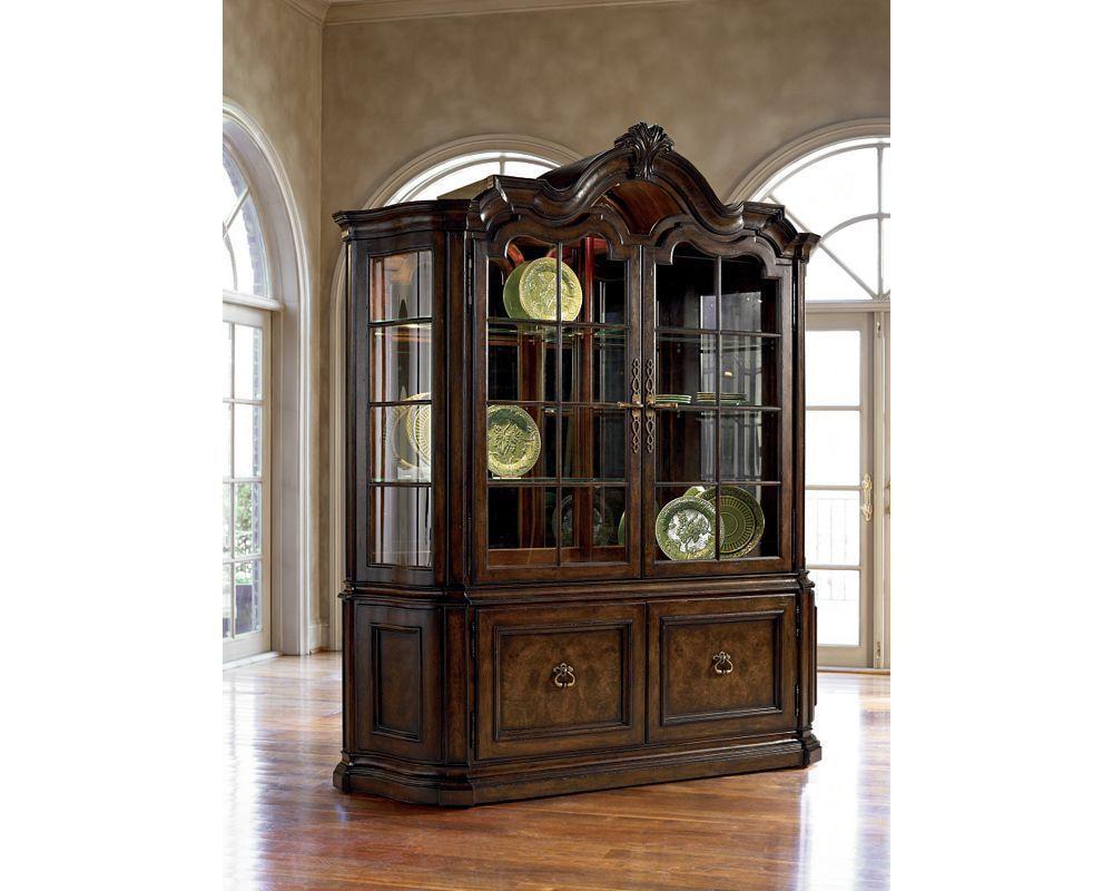 Thomasville Furniture Hills Of Tuscany San Martino China Cabinet DK RUSTICO 0 SH Dining Room