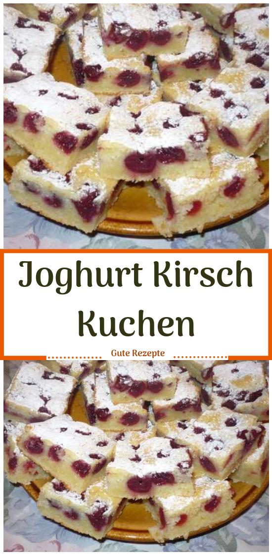 Joghurt Kirsch Kuchen