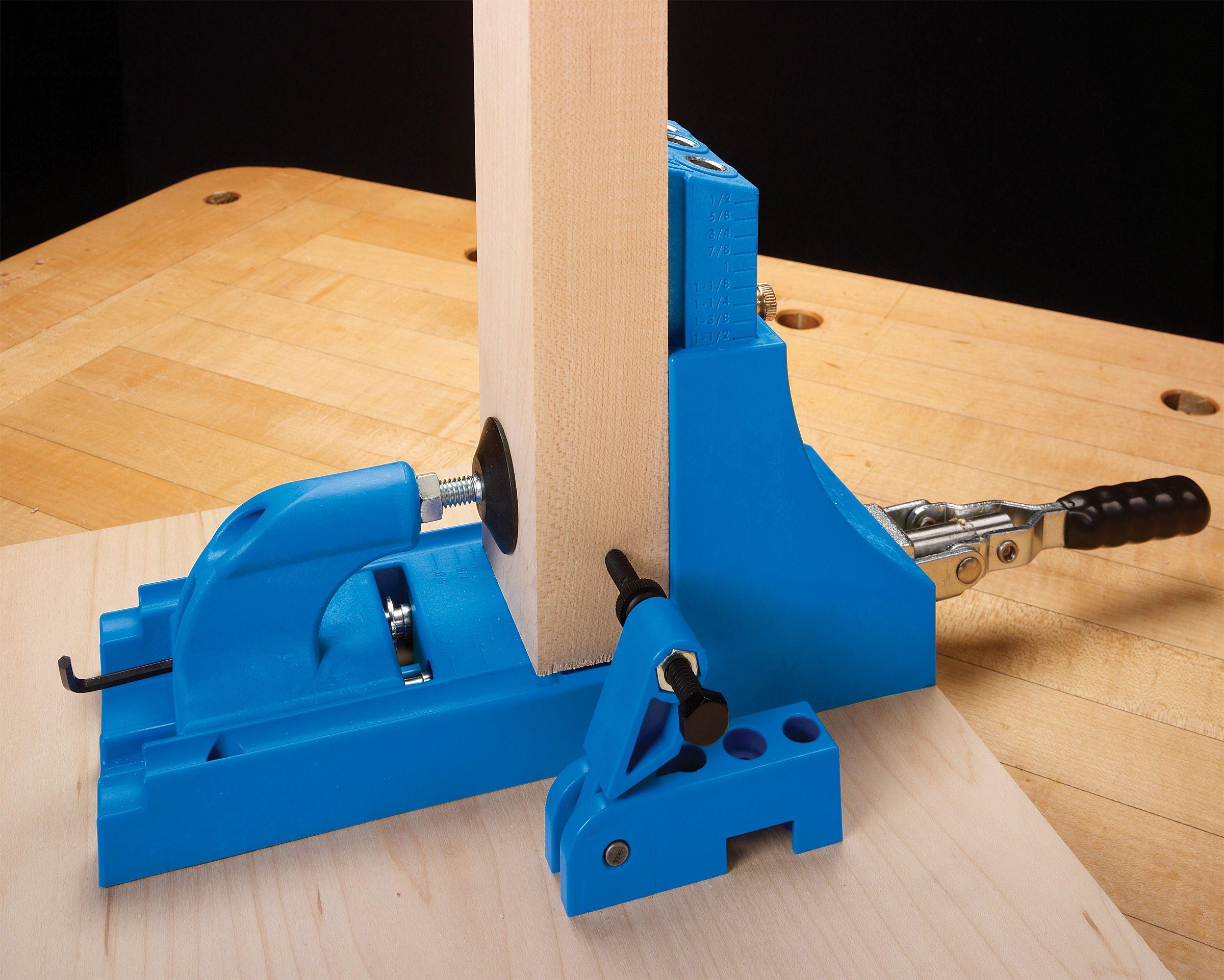 Material Support Stop | Shop Stuff | Woodworking tools, Kreg