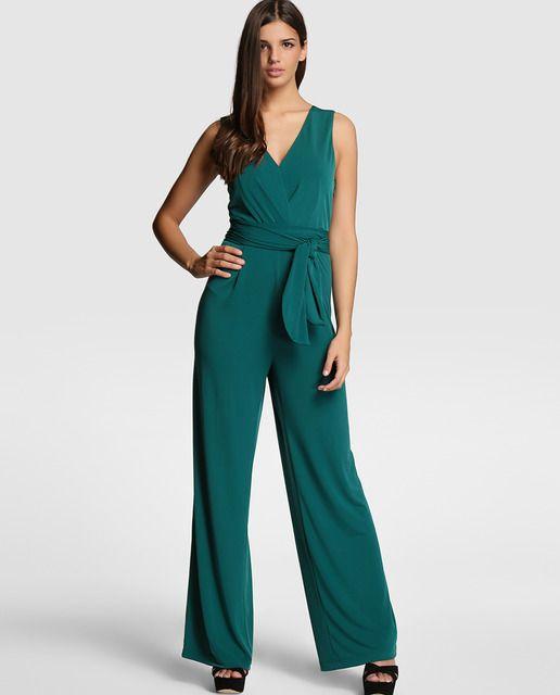 560cffbc9682b Mono largo de mujer Tintoretto en verde oscuro
