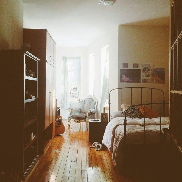 """I feel like I'm never home, but when I am it's simply divine. #Brooklyn"""