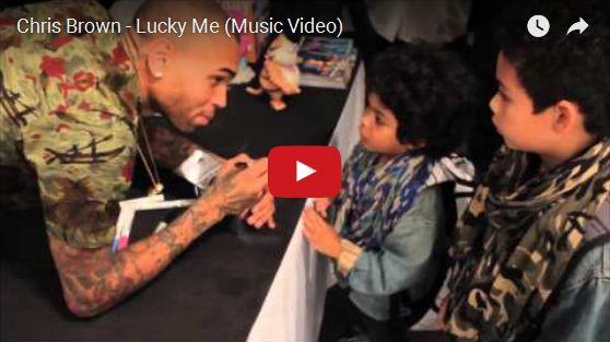 Watch: Chris Brown - Lucky Me See lyrics here: http://chrisbrown-lyrics.blogspot.com/2012/01/lucky-me-lyrics-chris-brown.html #lyricsdome