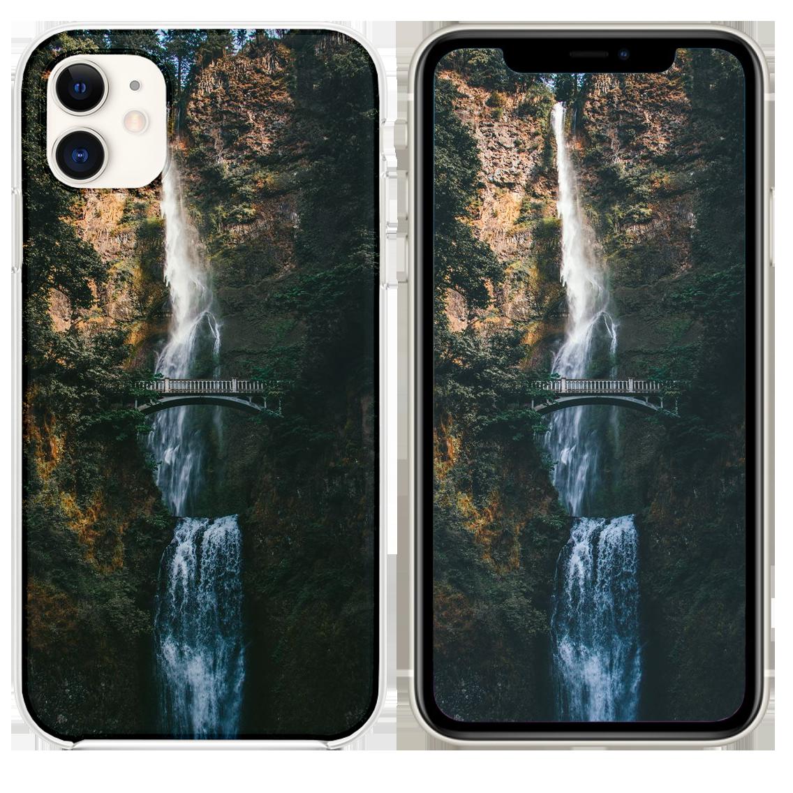 Multnomah Falls Iphone 11 Case Iphone 11 Iphone Multnomah Falls