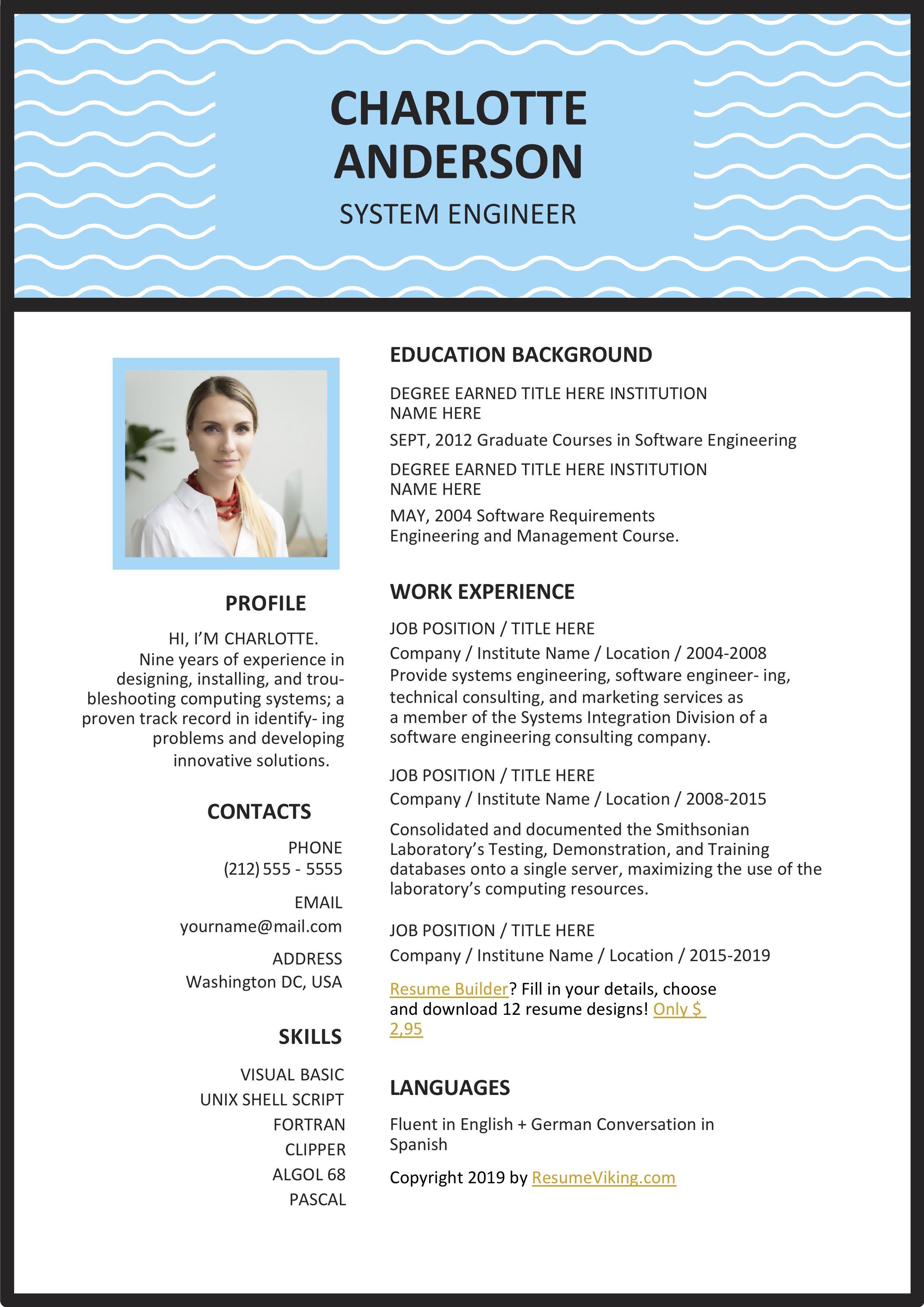 2015 Best Professional Resume Format Free Resume Template Word Resume Template Free Sample Resume Templates