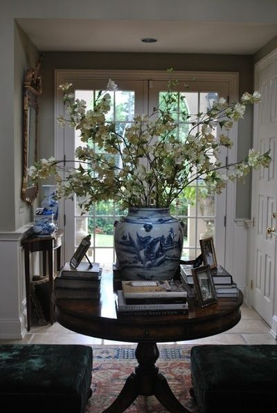 Awesome Round Entry Hall Table