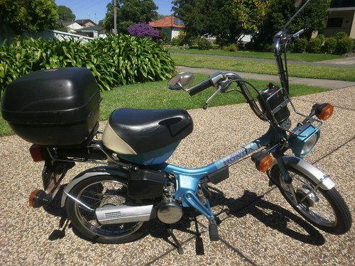My 1982 Honda Express NC50 Mk 2 - Blue  Kilometres: 1,589