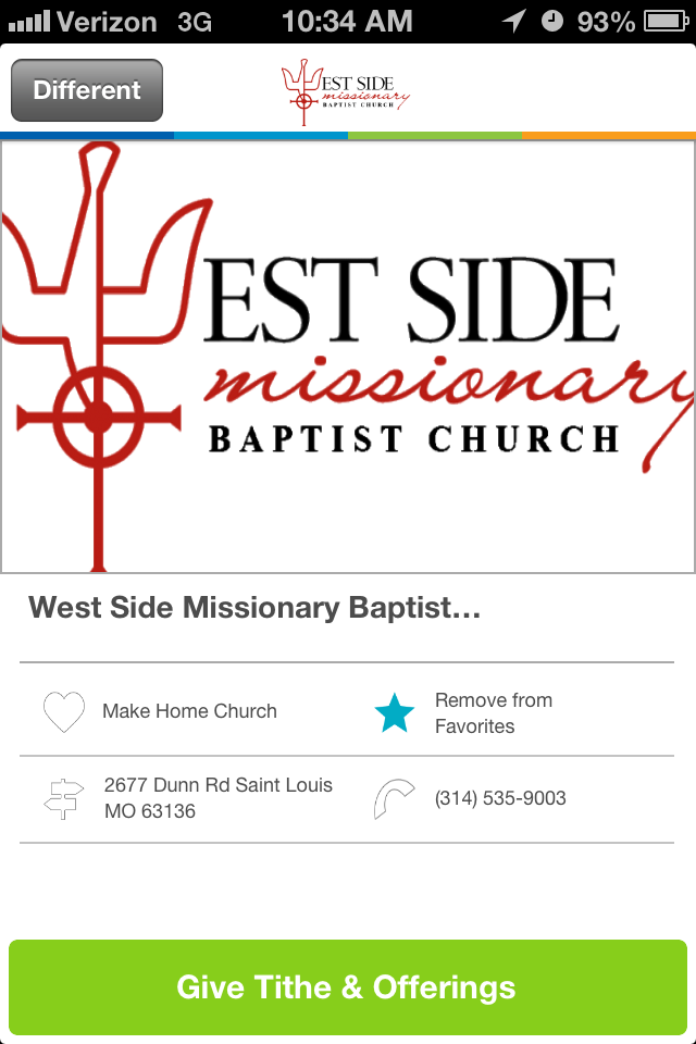 West Side Missionary Baptist Church in Saint Louis, MO