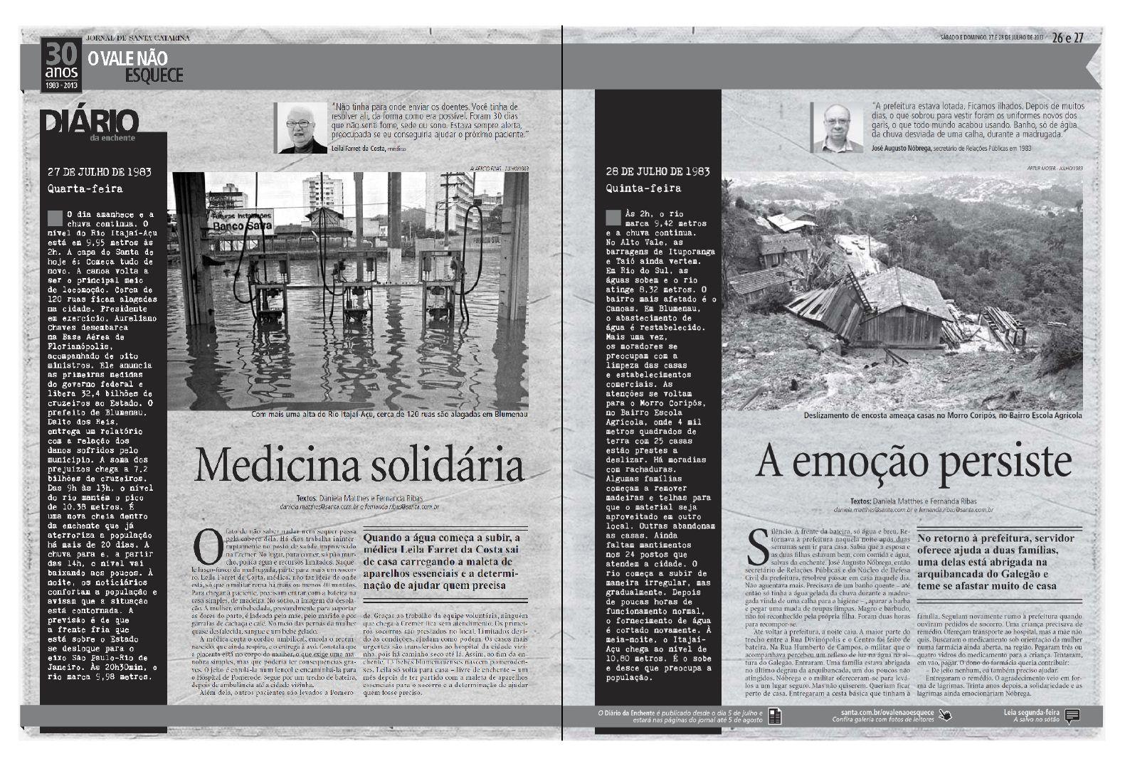 Acompanhe também em www.santa.com.br Edição: Cleisi Soares / Textos: Daniela Matthes e Fernanda Ribas / Design: Aline Fialho