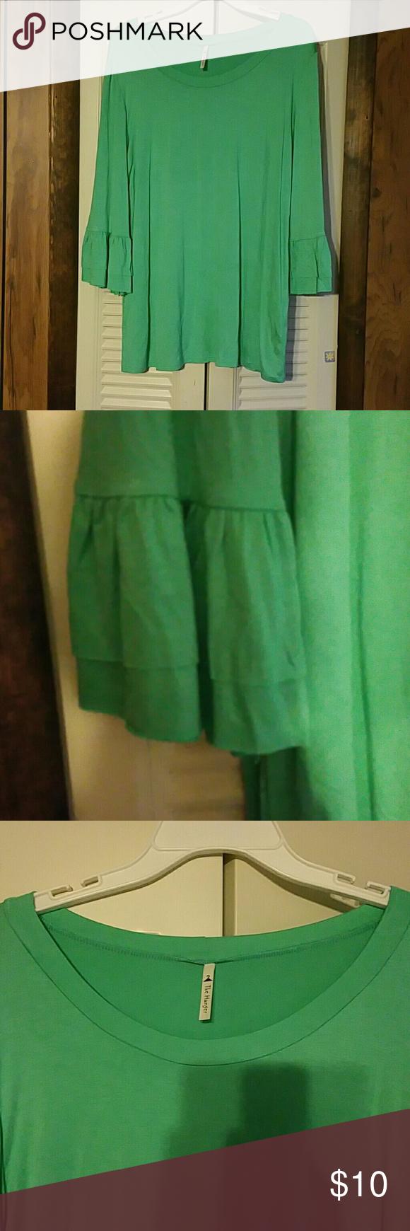 Green dress shirt mens Long sleeve dress shirt  My Posh Closet  Pinterest  Green colors