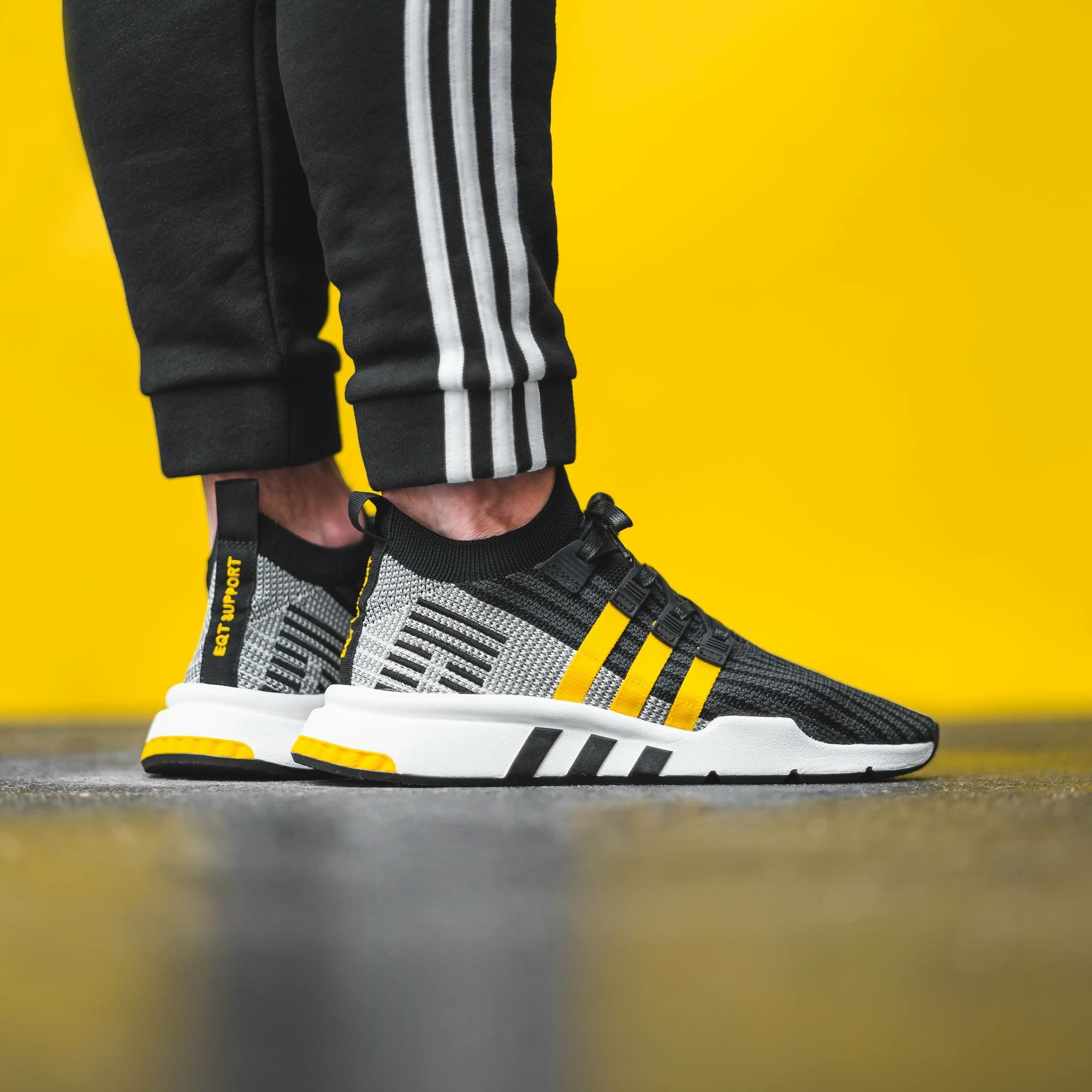 brand new 1e126 6691a adidas eqt support mid adv yellow