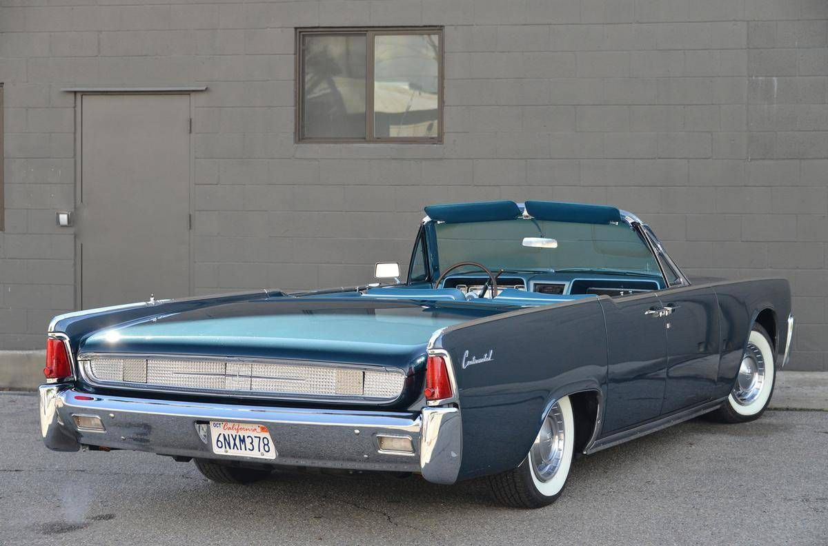 1961 Lincoln Continental 4-DR Convertible | automobiles - lincoln ...