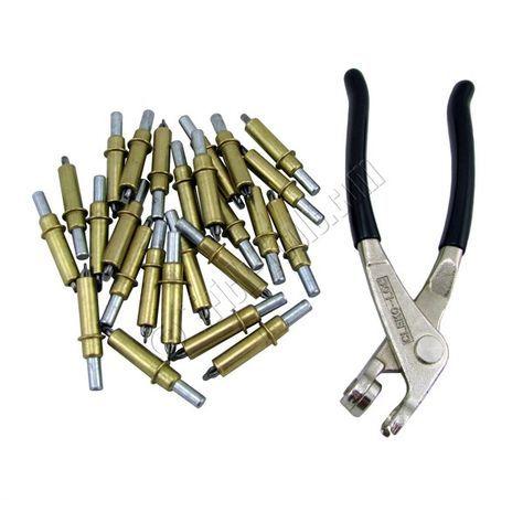 C 1 8 1 8 Inch Cleco Cleco Pliers 100 Piece Kit Metal Shaping Hand Tools Metal Shaping Metal Working Tools