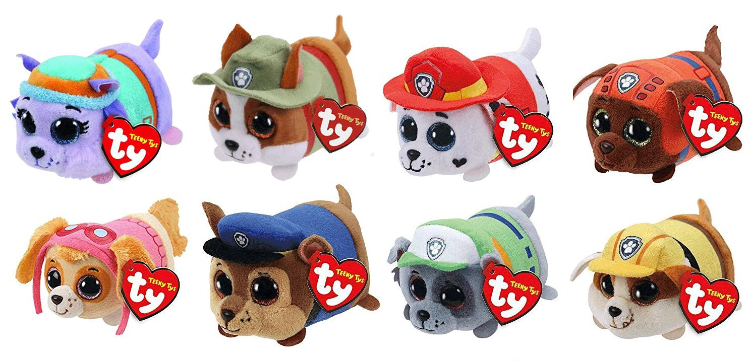 Current 165959  Set 8 Ty Teeny Paw Patrol Everest Tracker Chase Rubble Skye  Marshall Rocky Zuma -  BUY IT NOW ONLY   30.99 on  eBay  current  teeny   patrol ... ddc2b0ad319