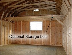 Garage Storage Loft..Smart Use Of Vertical Space! (Make It A Guest