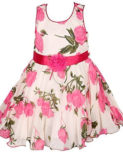 364dbcc2260 Wish Karo Party wear Baby Girls Frock Dress DN85PS fr85PS-2-3 Years ...