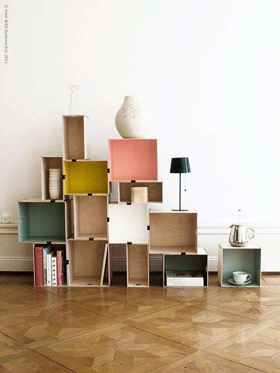 Pinterest 20 Belles Facons De Pimper Des Meubles Ikea Bookshelves Diy Ikea Diy Modular Bookshelves