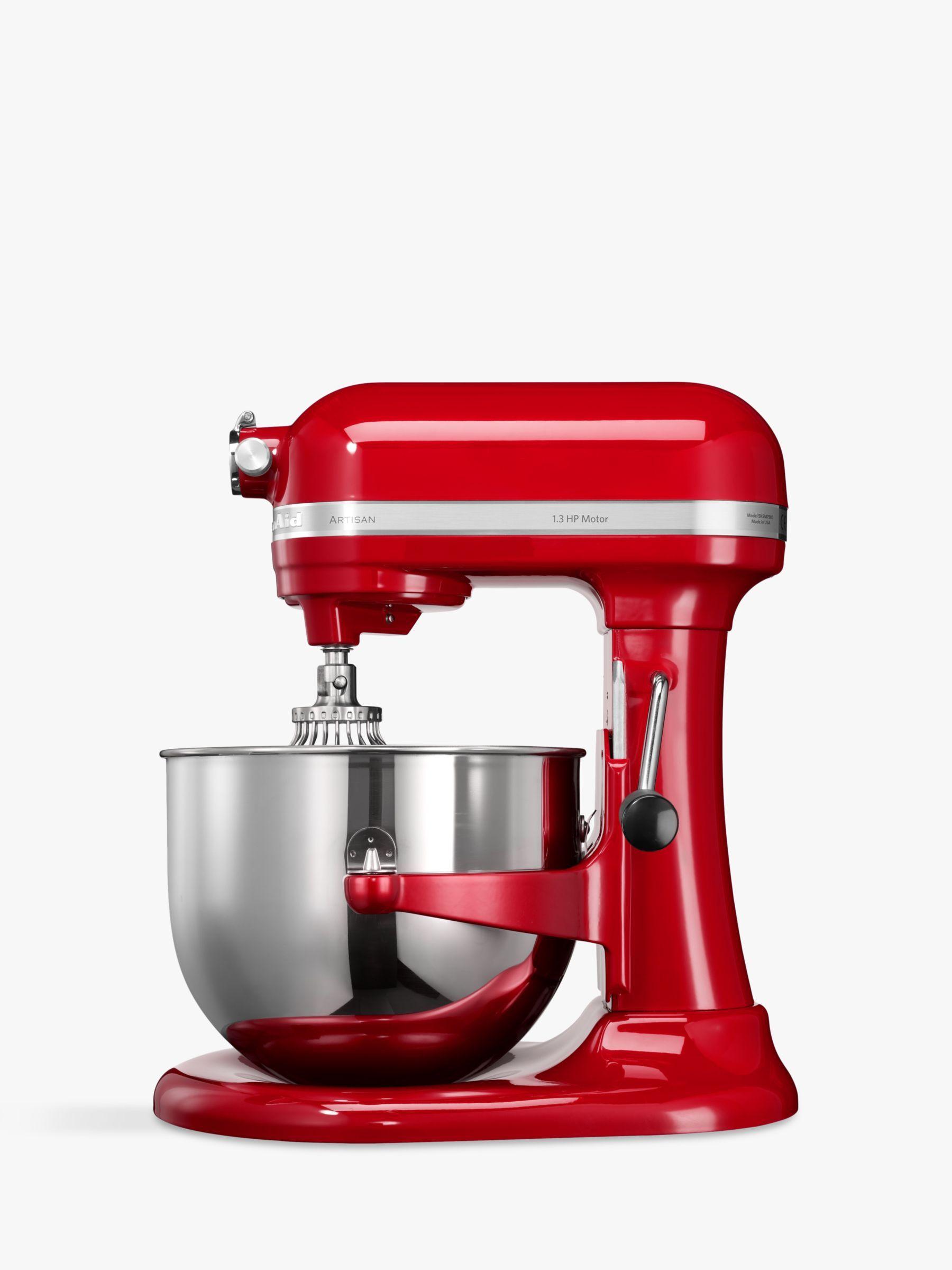 Kitchenaid 6 9l Artisan Stand Mixer Red Artisan Mixer