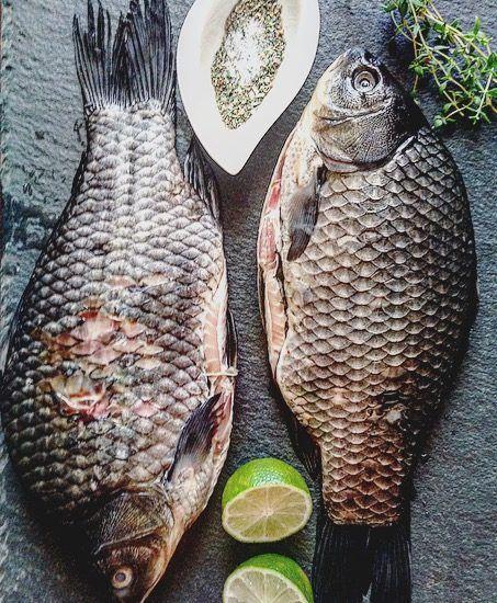 Рыба запеченная в духовке целиком рецепт с фото | Рыба ...