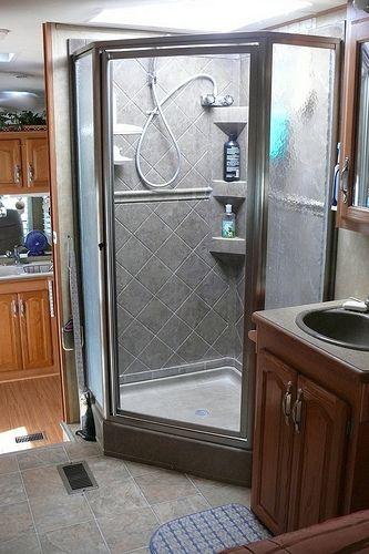 Remove Sliding Glass Shower Doors Bathroom Remodel Shower