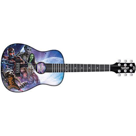 Marvel Guardians Of The Galaxy Junior Size Acoustic Guitar Walmart Com Guardians Of The Galaxy Acoustic Guitar Guitar