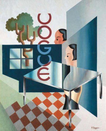 * ¨Projet pour Vogue - Fortunato Depero (1892-1960)