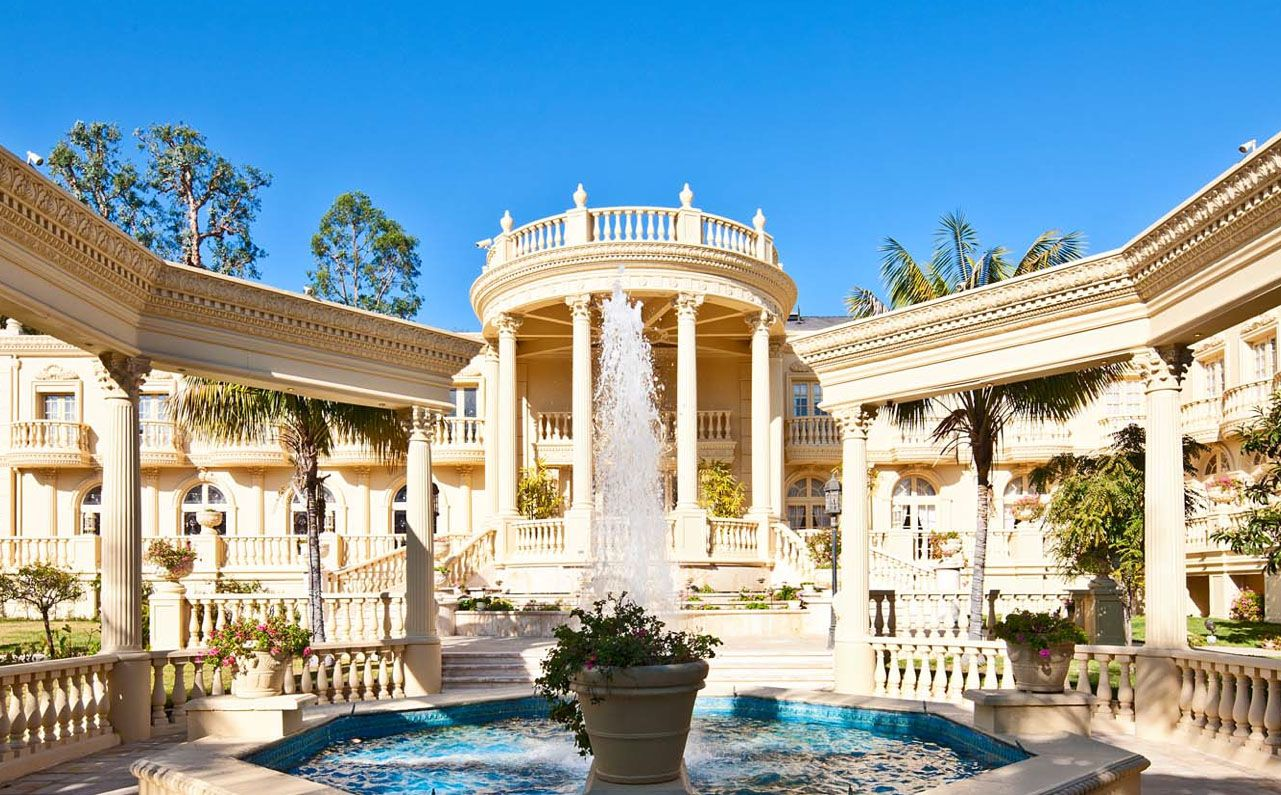 French Mansions Stunning French Chateau In Bel Air