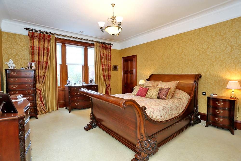 Make Your Bedroom As Grand As Every Other Room In The House Using Dark  Woods And