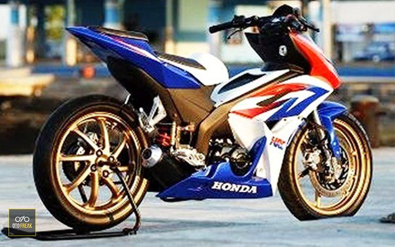 Modifikasi Warna Honda Blade In 2020 Honda Racing Motorcycles Moto Bike