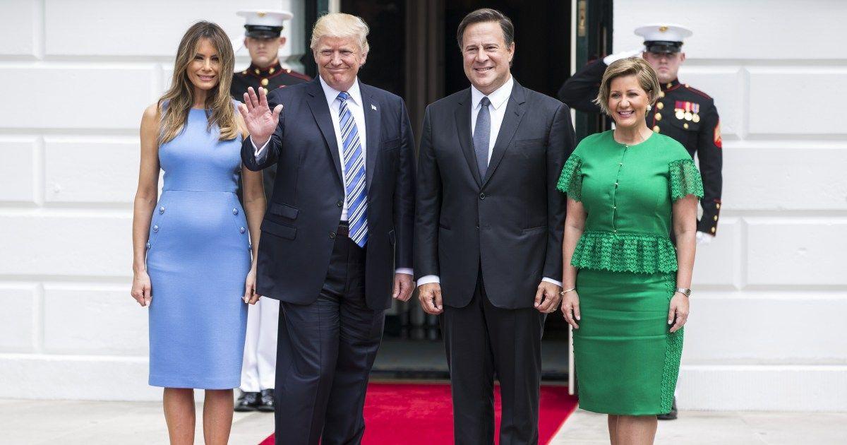 El increíble comentario de Donald Trump al presidente de Panamá ... - People en Español