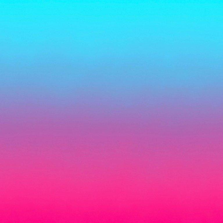 Aurora Neon Wallpaper In Fuchsia To Electric Blue Gradient