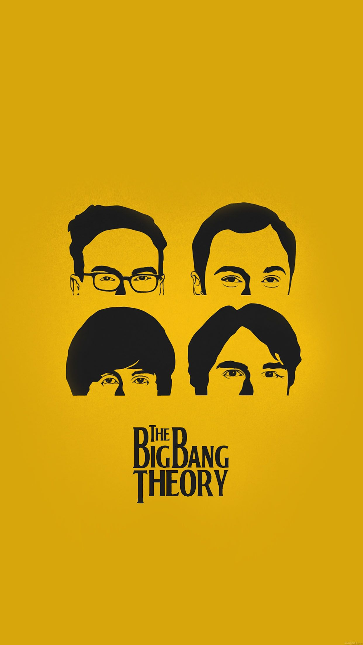 TAP AND GET THE FREE APP! Movies The Big Bang Theory Poster Yellow ...
