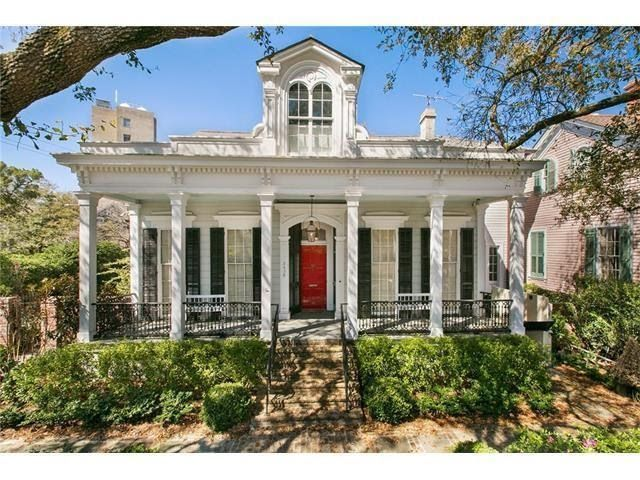1850 Greek Revival In New Orleans Louisiana — Captivating Houses