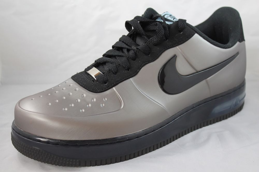 752a220106d13 NIKE AIR FORCE 1 Foamposite Pro Low Mens AF1 532461-001 Sz 10 Pewter  Nike…