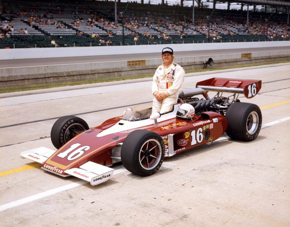 1975 indy 500 rookie of the year bill puterbaugh 1936