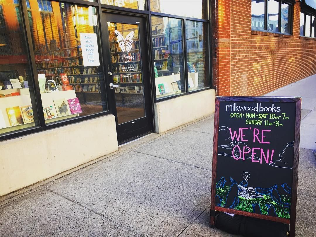 It's true! We are back today and there's still time to read a book or two in 2016. Other upcoming holiday hours are: Dec. 31st: 10am - 2pm Jan. 1st: CLOSED Jan 2nd: CLOSED  #MilkweedBooks #bookstore