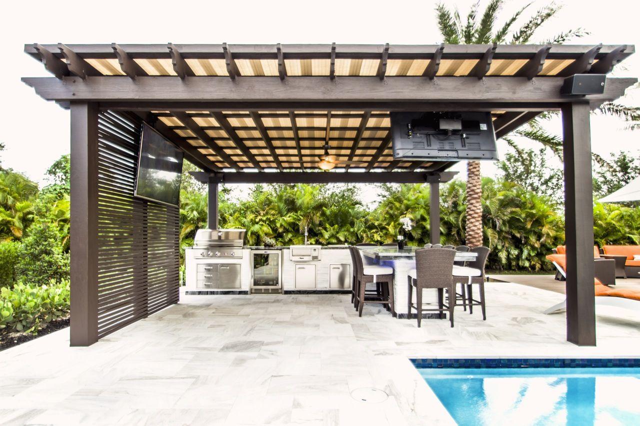 Custom Pergolas Miami Fort Lauderdale Casa De Praia Casas