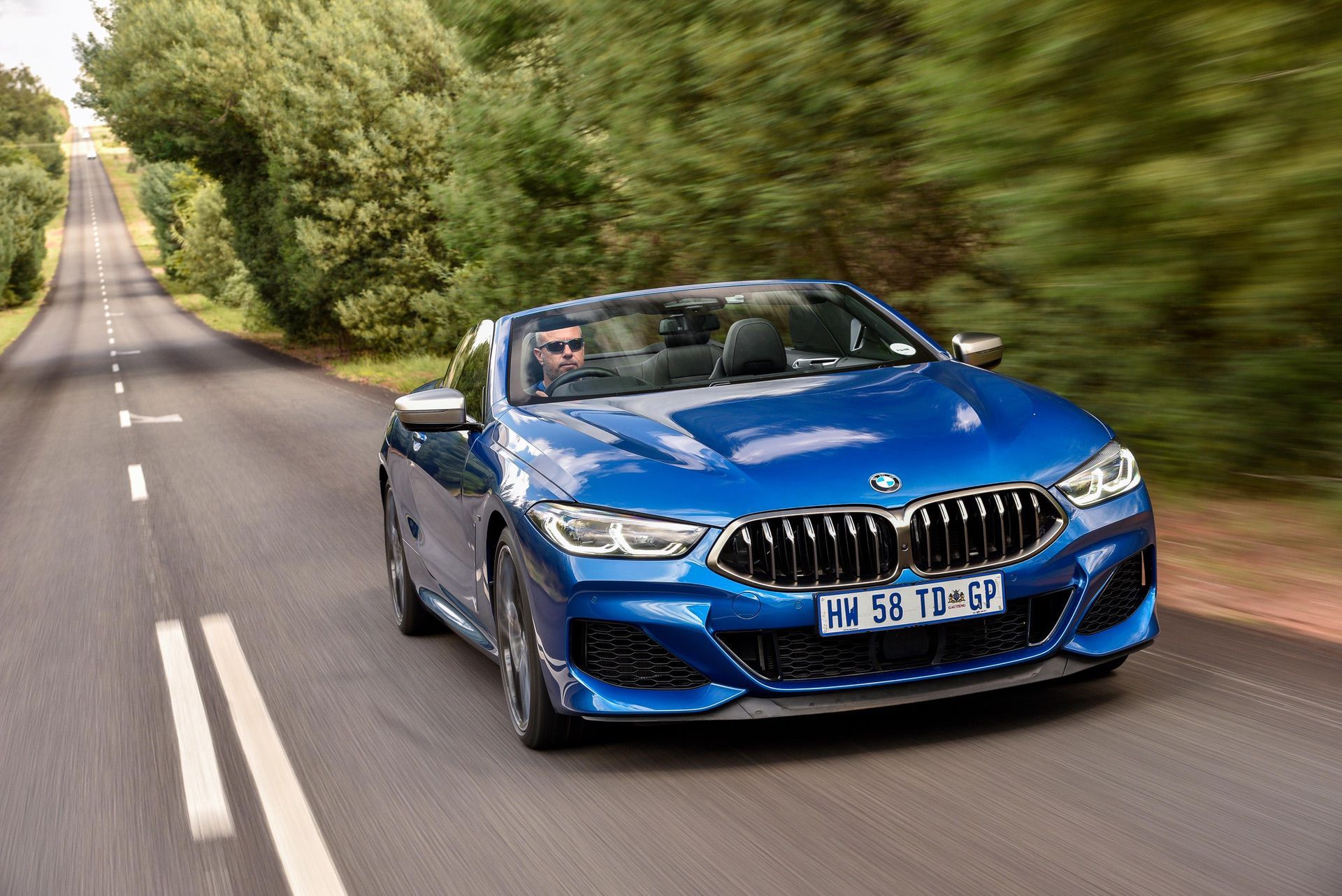 The New Bmw 8 Series Convertible Photoshoot From South Africa