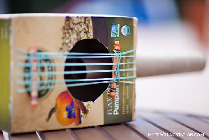 How to make a simple cereal box guitar for kids guitars cereal how to make a simple cereal box guitar for kids ccuart Image collections
