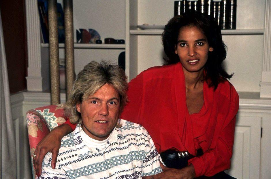 Dieter Bohlen And Nadja Abdel Farrag Dieter Bohlen Schlagersangerin Jenny Elvers
