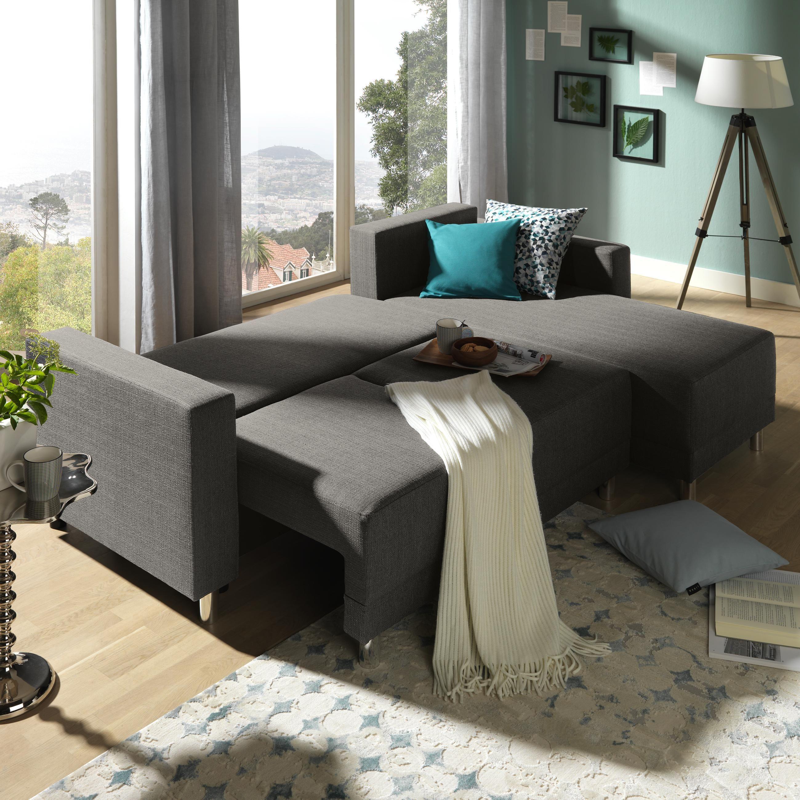 Wohnlandschaft In Grau Textil Pinterest