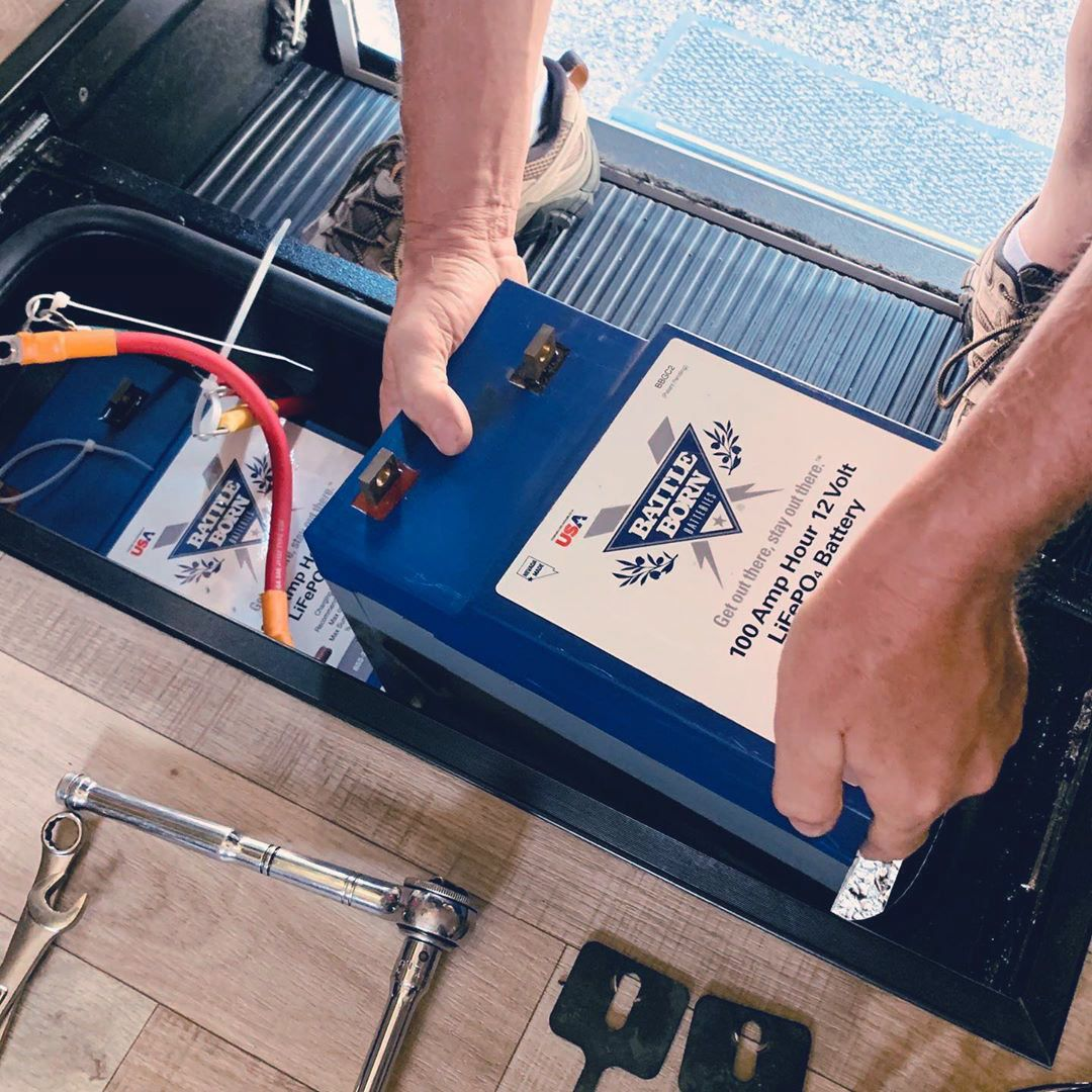 Battle born lithium batteries review for diy campers and