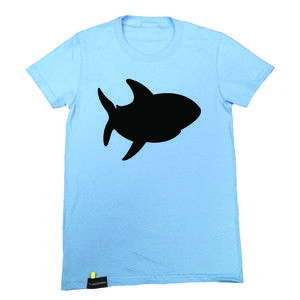 Shark Chalk Tee Women's now featured on Fab.