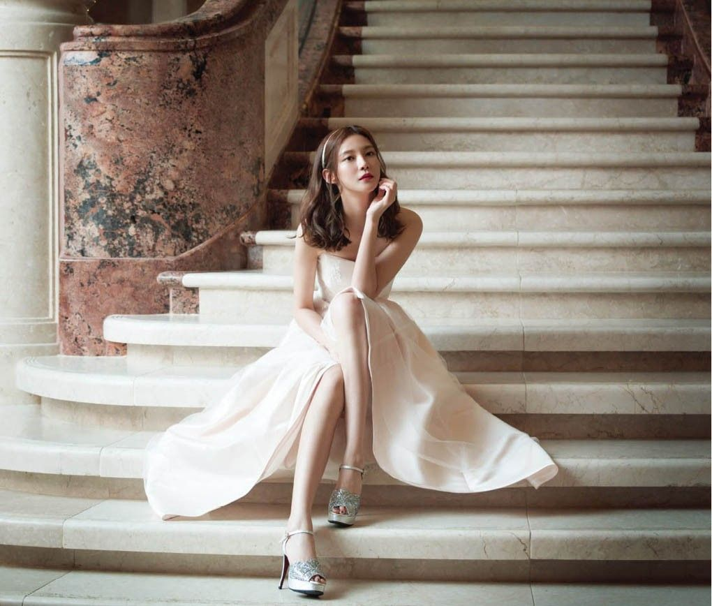 Cha Ye Ryun - My Wedding Magazine July 2014