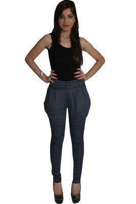 фото брюки бананы женские