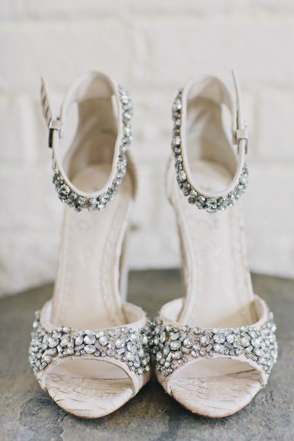 Wedding Shoe Bling Photo By Clean Plate Pictures Http Ruffledblog
